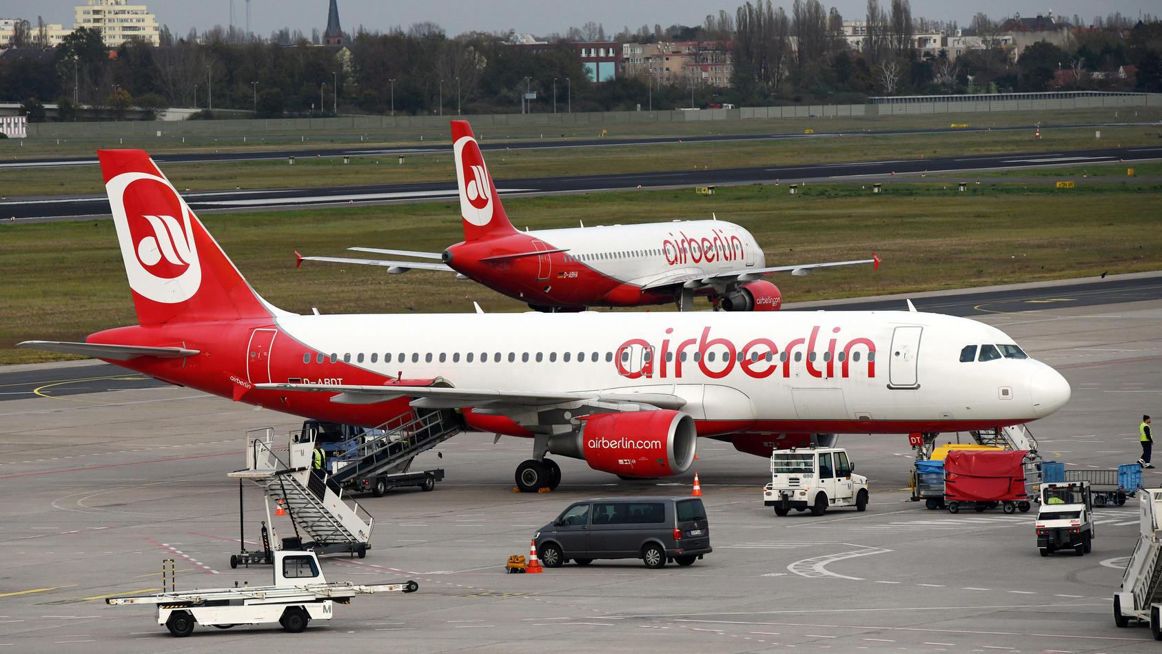 Was passiert mit den 8.000 Air-Berlin-Mitarbeitern, wenn der letzte Flieger landet?