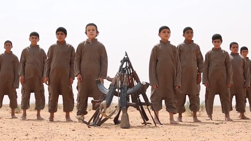 Bild aus einem Propagandavideo des Islamischen Staats