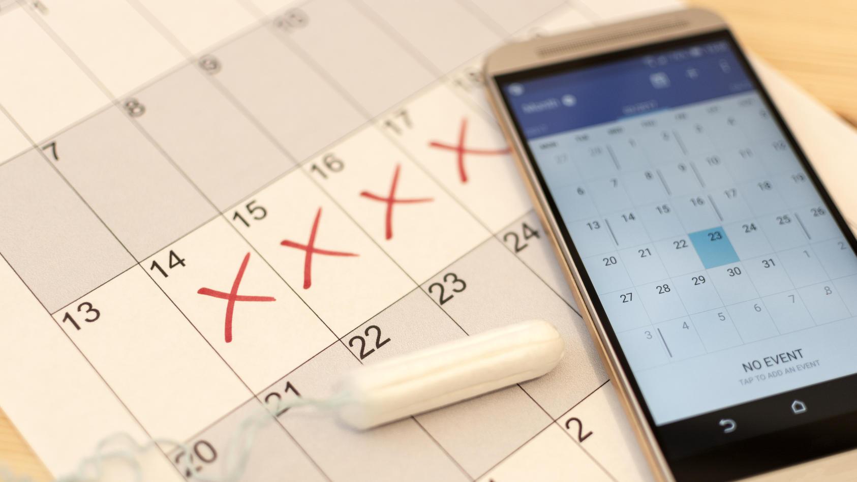 Stiftung Warentest: Die meisten Zyklus-Apps sind mangelhaft