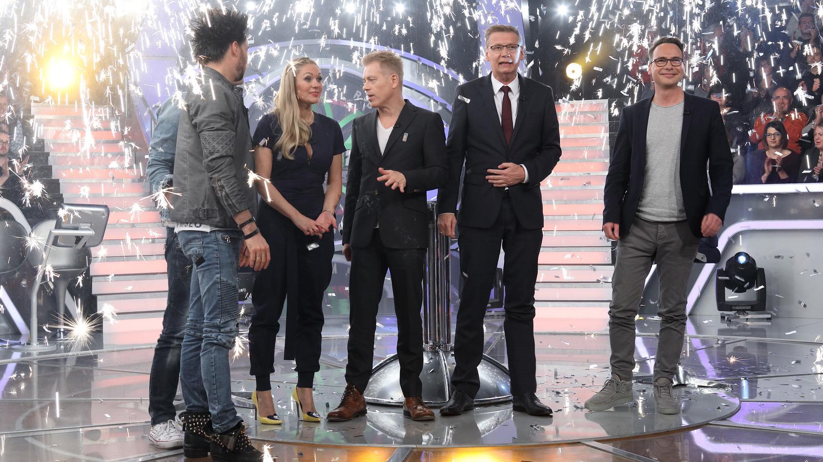 """""""Wer wird Millionär? - Prominenten-Special mit den Ehrlich Brothers, Ruth Moschner, Michael Mittermeier und Matthias Opdenhövel."""