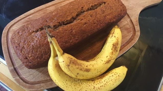 Punkt 12 Lieblingsgericht Bananenbrot