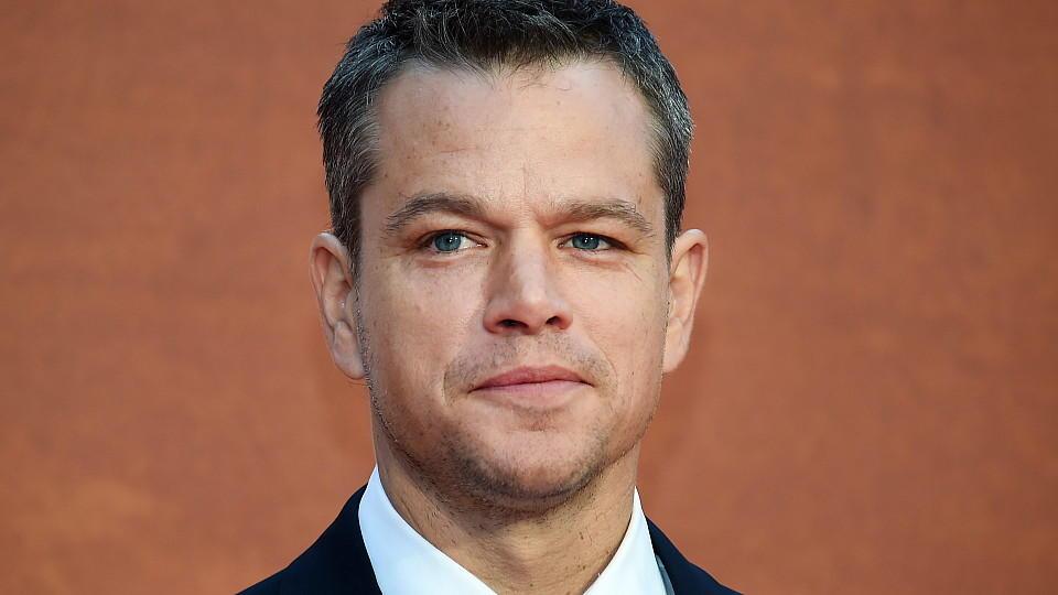 """Matt Damon auf der Premiere von """"Der Marsianer"""""""