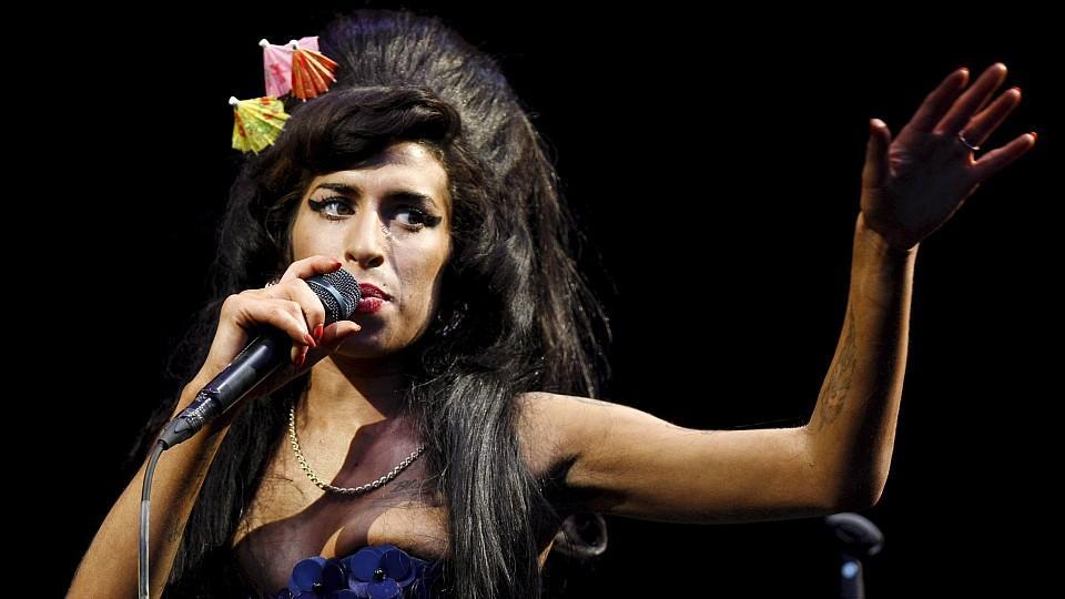 Amy Winehouse bei einem Auftritt im Jahr 2008.