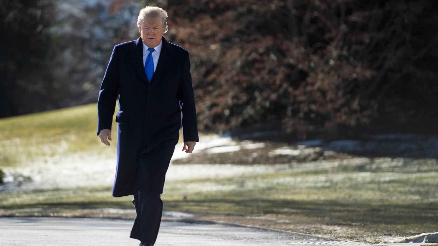 """Mächtig sauer über die Anschuldigungen: """"Genie"""" Donald Trump."""