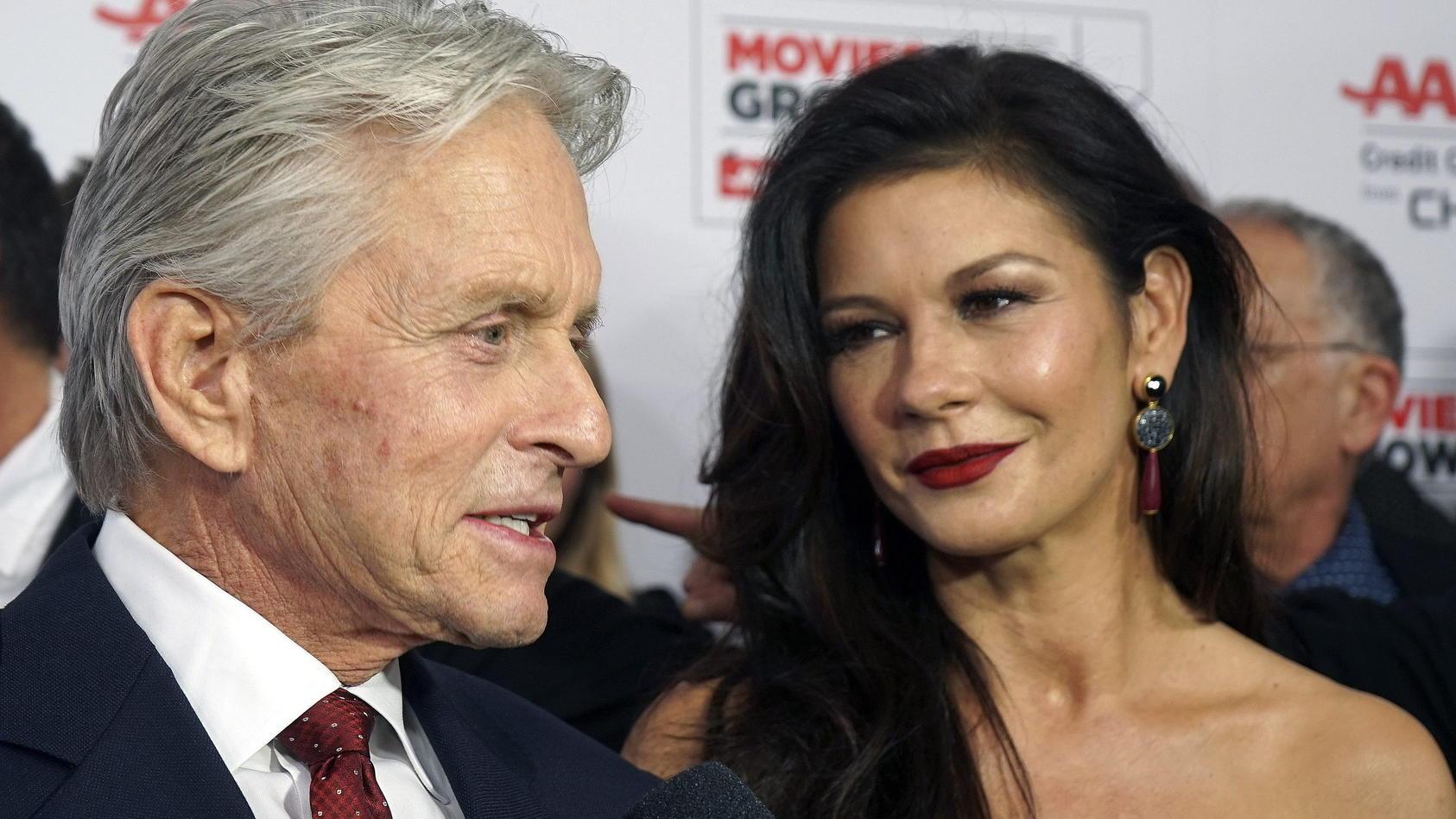 Seit 1998 gemeinsam glücklich: Michael Douglas und Catherine Zeta-Jones