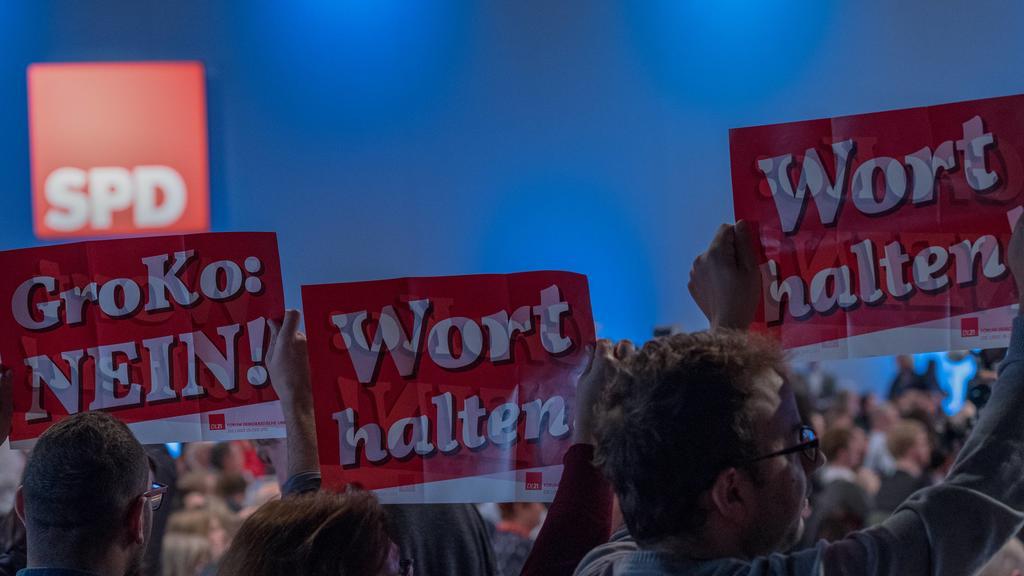 SPD Bundesparteitag 2018 in  Bonn