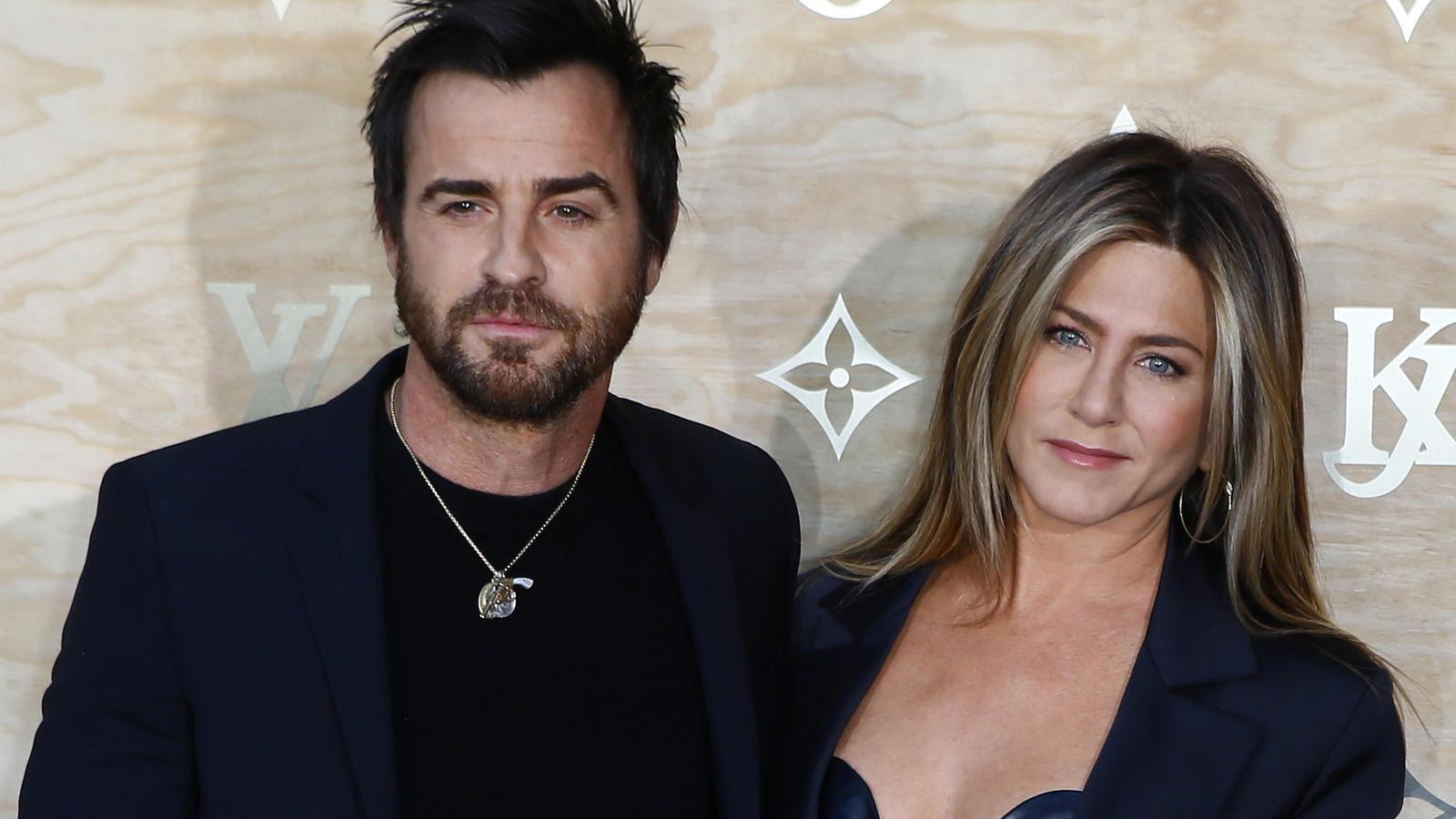 Jennifer Aniston und Justin Theroux vor ihrer Trennung 2018.