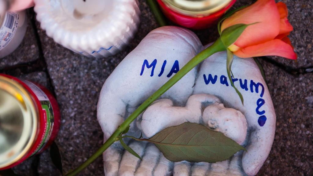 Gedenken in Kandel an getötete Mia