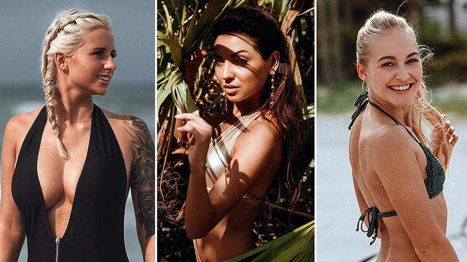 Carina, Kristina und Svenja: Alle drei Frauen habe ihre ganz eigene Strategie beim Kampf um den Bachelor.
