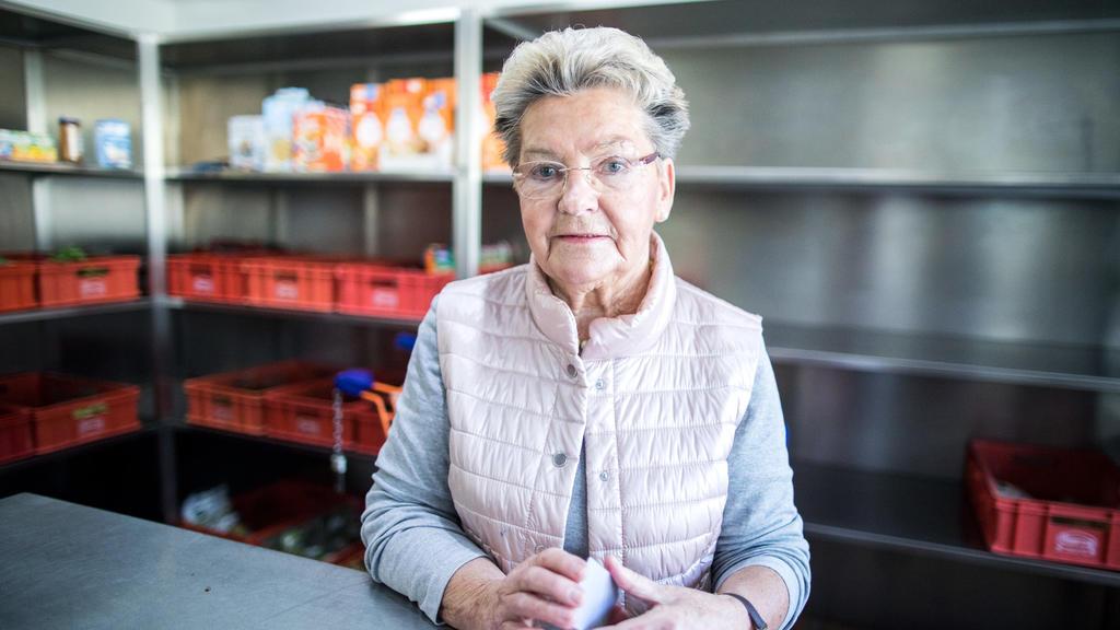 Renate Kampe, Leiterin der Marler Tafel