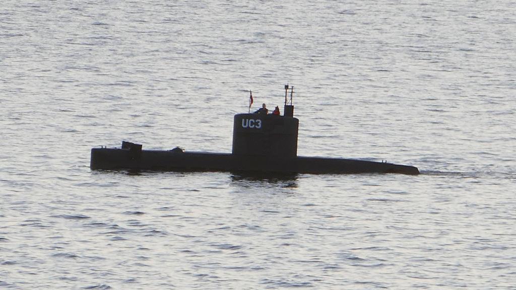 Kim Wall und Peter Madsen an Bord des U-Boots