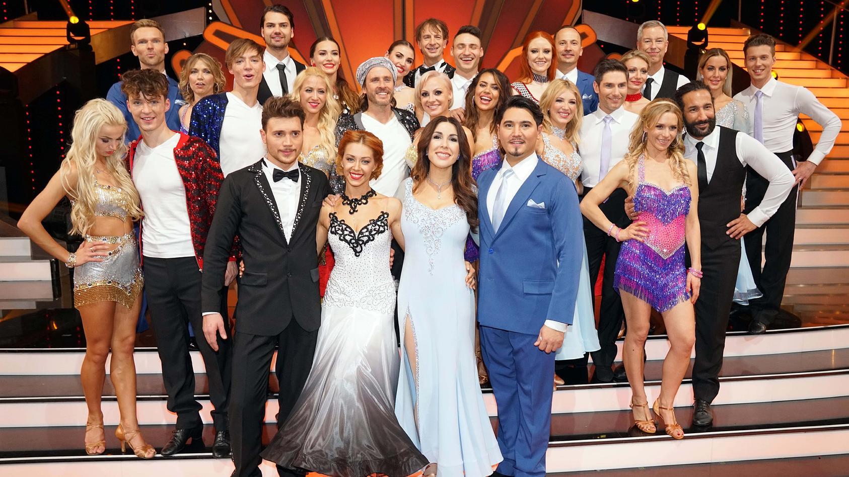 """Mit diesen 14 Paaren startete die elfte Staffel von """"Let´s Dance""""."""