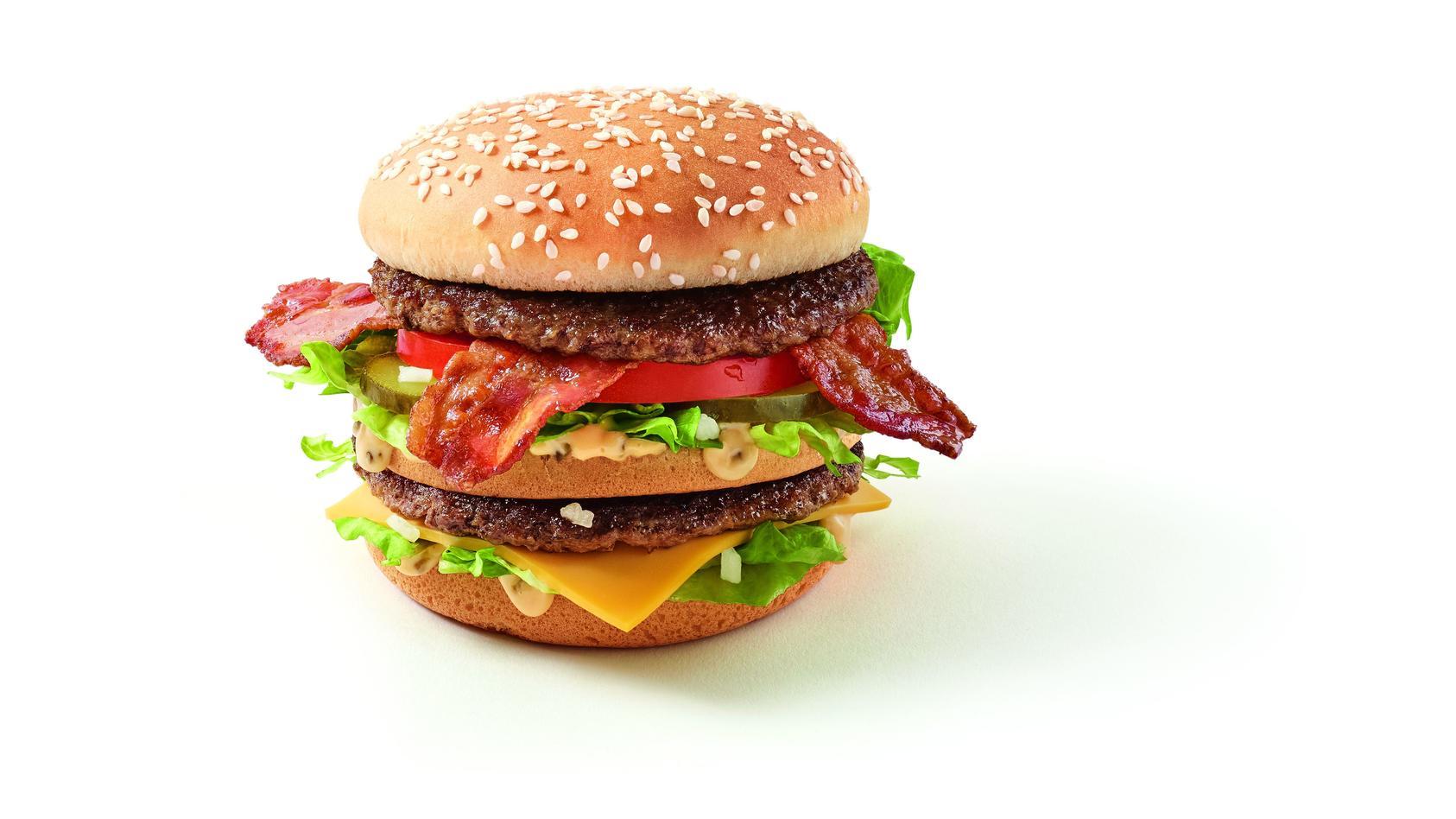 Vor 50 Jahren wurde der 'Big Mac' auf den Markt gebracht. Um das zu feiern, verkauft McDonalds jetzt den 'Big Mac Bacon TS'.