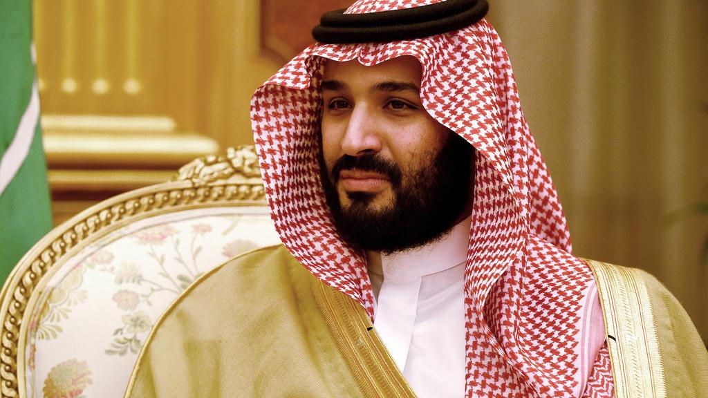 ARCHIV - 08.12.2016, Saudi-Arabien, Riad: Der damalige saudische Vize-Kronzprinz und Verteidigungsminister Mohammed bin Salman al-Saud. Washington (dpa) - Der saudische Kronprinz Mohammed bin Salman hat Israel das Recht auf ein eigenes Land zugesproc
