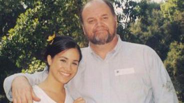 Herzogin Meghan mit ihrem Vater Thomas Markle