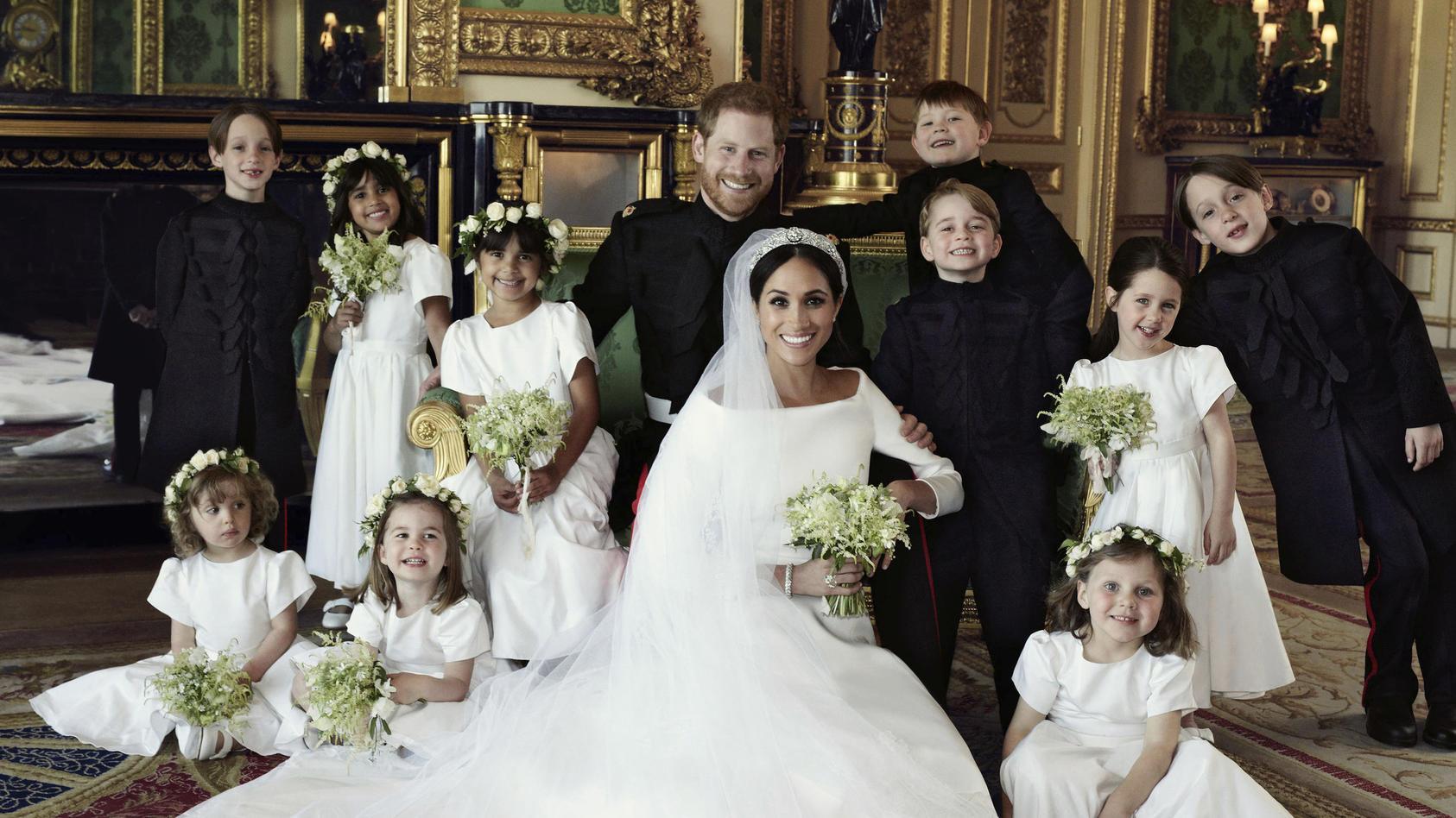 Offizielle Hochzeitsbilder von Prinz Harry und Herzogin Meghan
