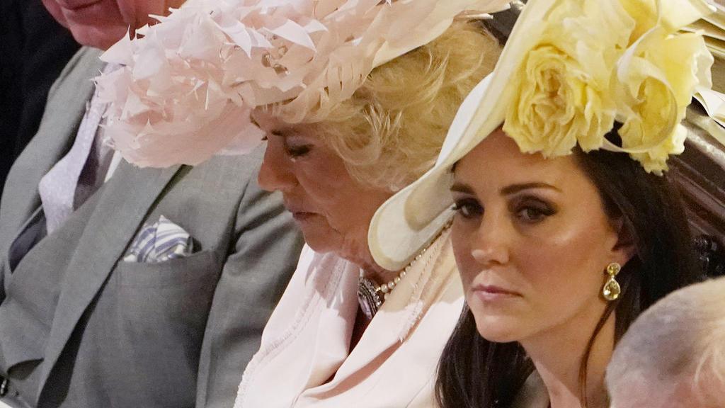 Herzogin Catherine soll eifersüchtig auf ihre Schwägerin Herzogin Meghan sein