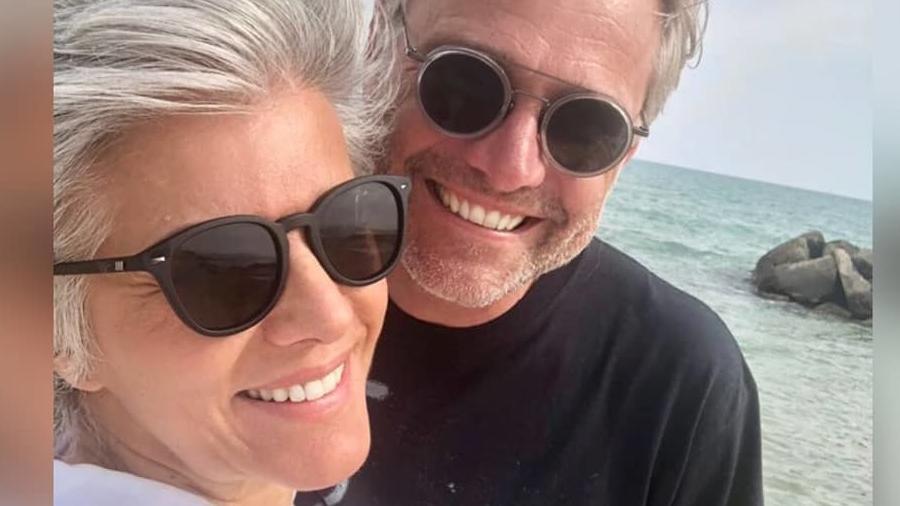 Birgit Schrowange mit Freund Frank Spothelfer im gemeinsamen Mallorca-Urlaub.
