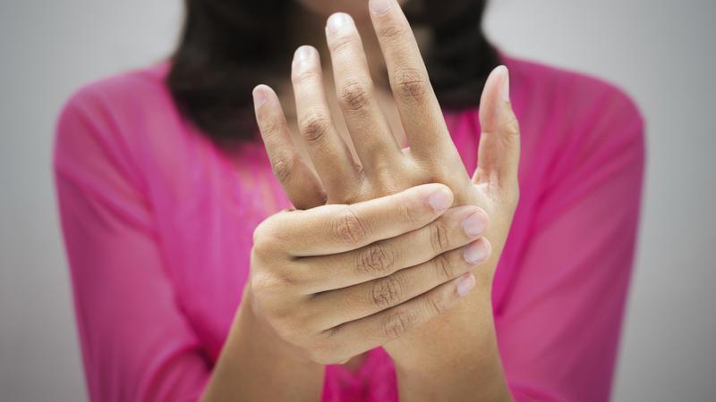 Im handgelenk knubbel Handgelenksganglion (Überbein)