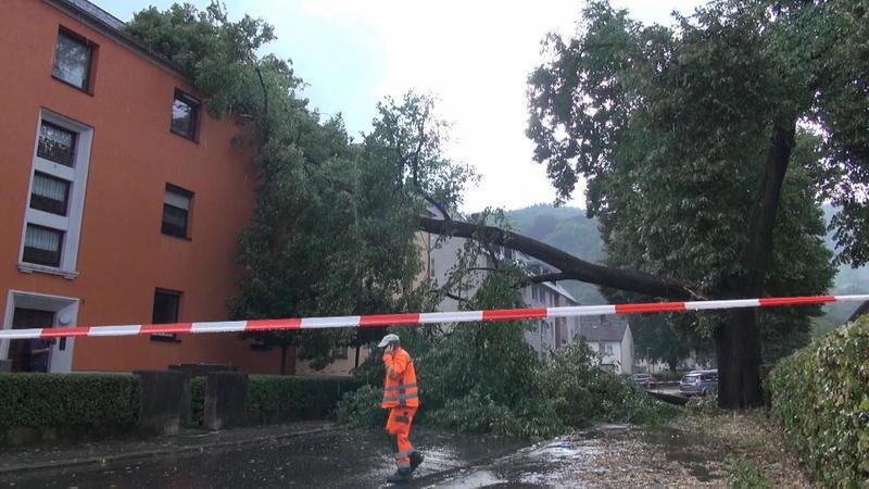 Unwetter In Rheinland-Pfalz