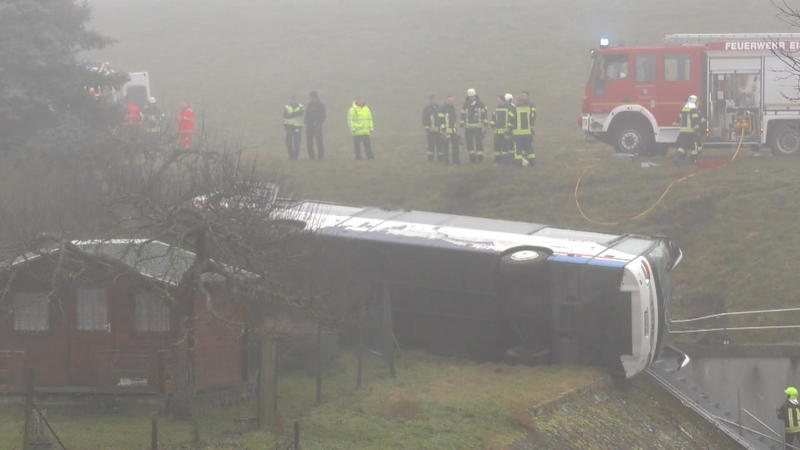 Schulbus Unfall Thüringen