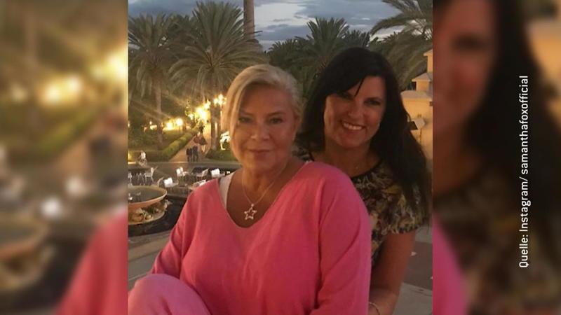 Linda Fox mit ihren Hängeglocken